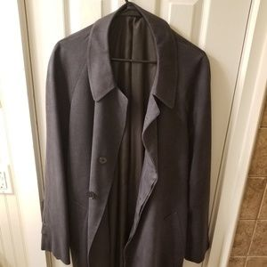 Hickey Freeman Overcoat Size 44 REG
